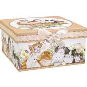 GESCHENKBOX - Multicolor, Trend, Papier (23/12/23cm) - Boxxx