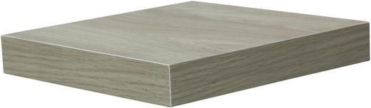 WANDBOARD Sonoma Eiche - Sonoma Eiche, Design (23,5/3,8/23,5cm) - Carryhome