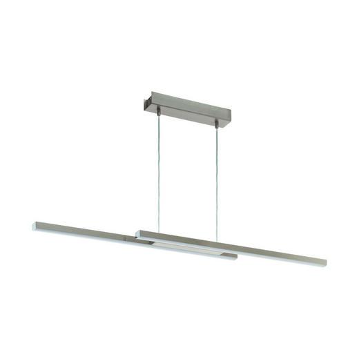 LED-HÄNGELEUCHTE - Weiß, KONVENTIONELL, Kunststoff/Metall (105,5/10/120cm)