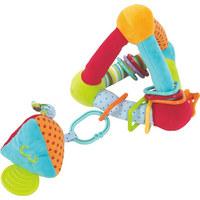 Motorikspiel Activity Triangle - Multicolor, Basics, Textil (21/21/21cm) - My Baby Lou