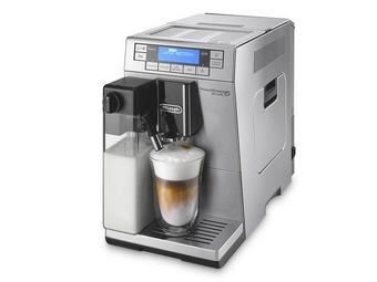 DE'LONGHi Kaffeevollautomat - Silberfarben, Basics, Kunststoff (19,5/32,6/47,5cm)