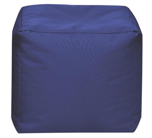 SITZWÜRFEL Dunkelblau - Dunkelblau, Design, Textil (40/40/40cm) - Carryhome