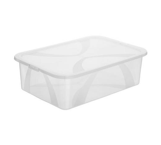 BOX MIT DECKEL 57,1/39,2/16,6 cm  - Naturfarben, KONVENTIONELL, Kunststoff (57,1/39,2/16,6cm) - Rotho