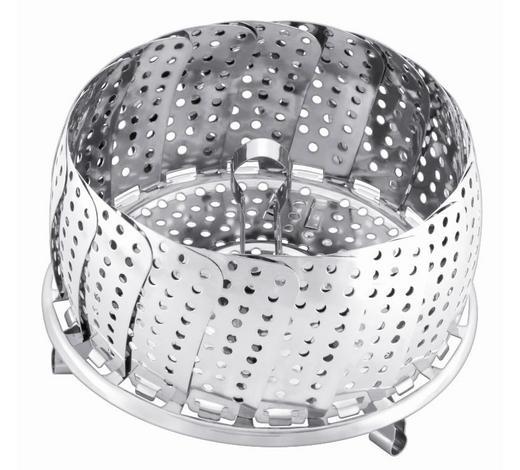 GARBEHÄLTER - Edelstahlfarben, Design, Metall (14cm) - WMF