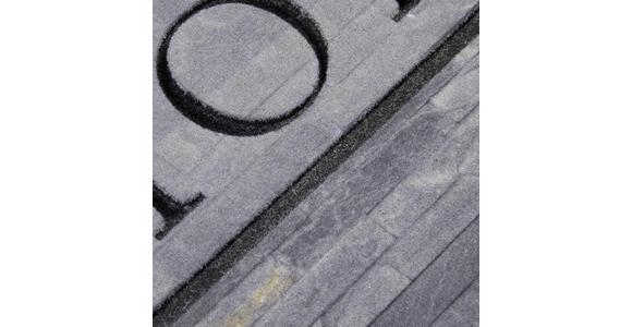 FUßMATTE 45/75 cm  - Anthrazit/Hellgrau, Design, Textil (45/75cm) - Esposa