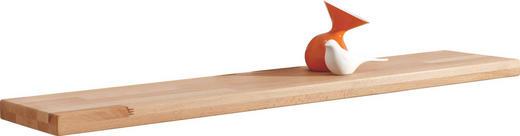 WANDBOARD Kernbuche massiv Buchefarben - Buchefarben, Design, Holz (100/3,5/22cm) - Carryhome