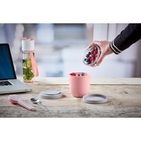 Lunchpot  - Rosa, Basics, Kunststoff (10,7/10,7/1,51cm) - Mepal Rosti