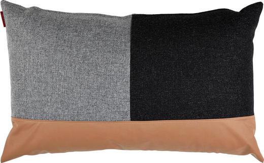 KISSEN 50/80 cm - Schwarz/Braun, Design, Textil (50/80cm) - Innovation