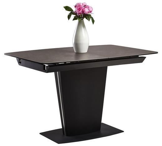 Esstisch ausziehbar schwarz  ESSTISCH rechteckig Grau, Schwarz