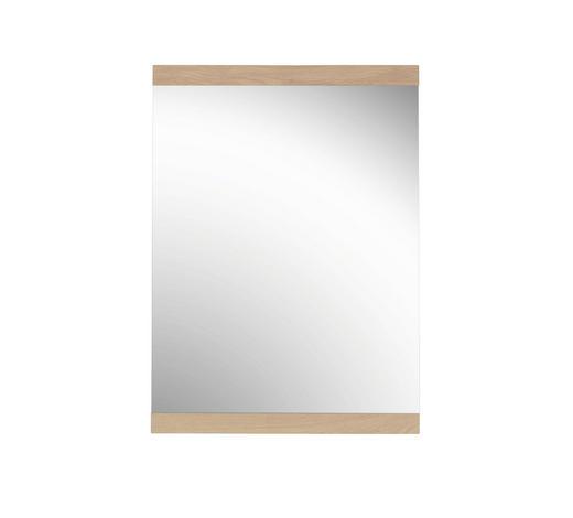 SPIEGEL 58/80/2 cm - Eichefarben, Design, Glas/Holz (58/80/2cm) - Novel