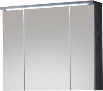 ORMARIĆ SA OGLEDALOM - Siva, Dizajnerski, Staklo/Pločasti materijal (80/69/20cm) - Xora