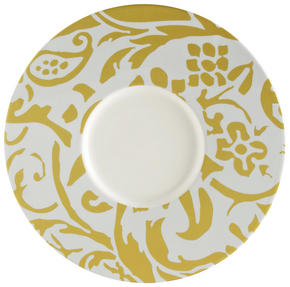 UNDERTALLRIK - vit/gul, Basics, keramik (30,2cm) - Novel