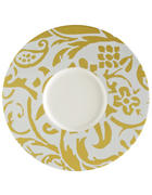 PLATZTELLER Keramik Bone China - Gelb/Weiß, Basics, Keramik (30,2cm) - Novel