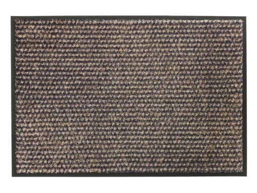 FUßMATTE 67/100 cm - Taupe/Anthrazit, KONVENTIONELL, Textil (67/100cm) - Schöner Wohnen
