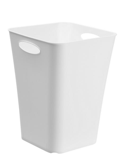 BOX Kunststoff Weiß - Weiß, Basics, Kunststoff (29.5/29.5/39.5cm)