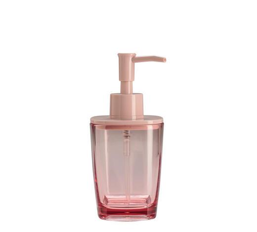SEIFENSPENDER Glas - Rosa, Basics, Glas (7,3/16cm) - Kleine Wolke