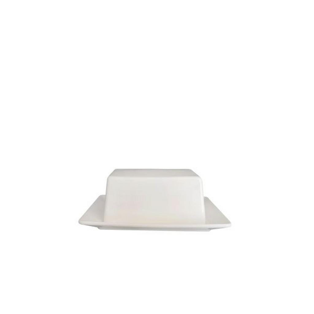 Image of Novel Butterdose keramik , Butter Dish , weiss , 13x10 cm , glänzend , 0071360130