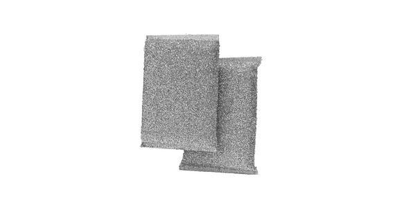 KOMBISCHWAMM - Grau, Basics, Kunststoff (12/8,5/2,5cm) - Homeware