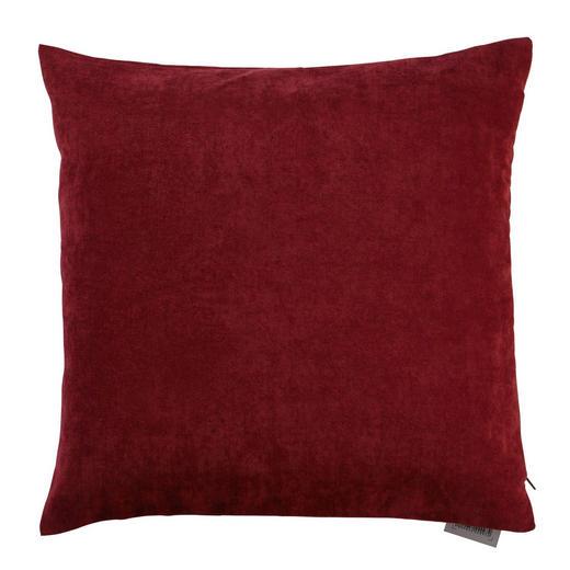 KISSENHÜLLE Bordeaux 50/50 cm - Bordeaux, Basics, Textil (50/50cm) - Novel