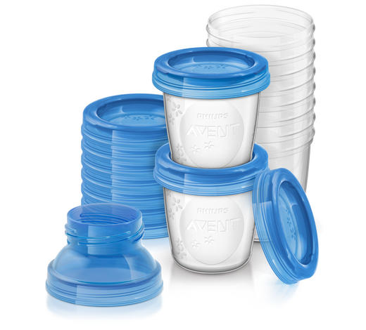 ESSSET - Blau/Transparent, Basics, Kunststoff (15,8/20/8cm) - Avent