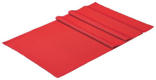 TISCHLÄUFER Textil Rot 50/150 cm - Rot, Basics, Textil (50/150cm)