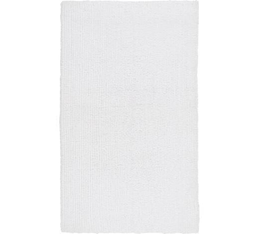 BADEMATTE in Weiß 70/120 cm  - Weiß, Natur, Textil (70/120cm) - Linea Natura