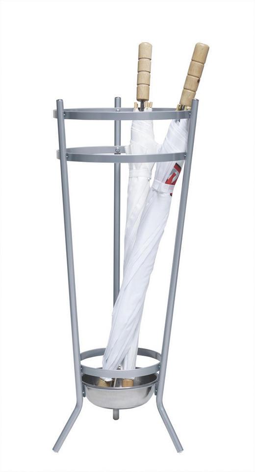 STALAK ZA KIŠOBRANE - boje aluminija, Basics, metal (26/68/26cm) - XORA
