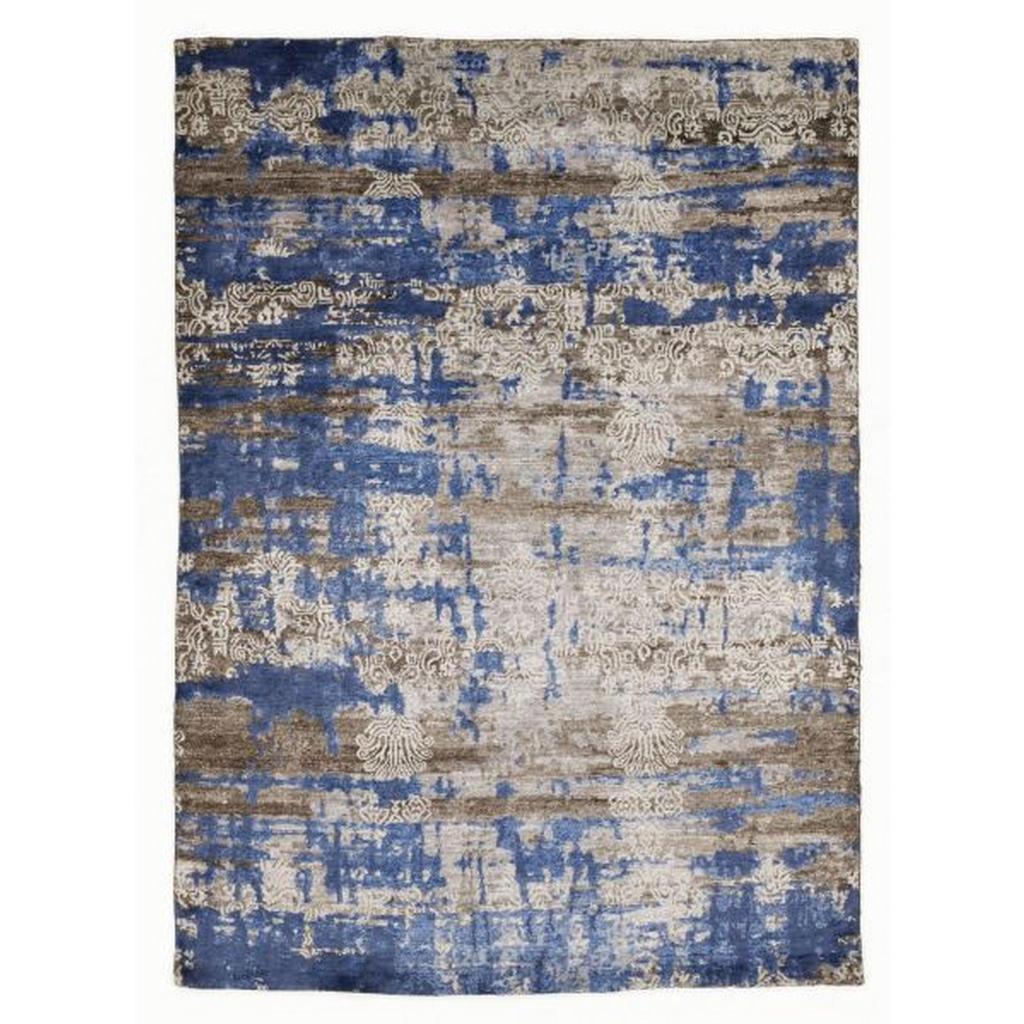 Esposa Orientteppich 200/300 cm blau, braun , Signature Fusion , Textil , Bordüre , 200 cm , für Fußbodenheizung geeignet, in verschiedenen Größen erhältlich , 007946088972