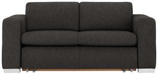 SCHLAFSOFA in Textil Braun  - Alufarben/Braun, KONVENTIONELL, Kunststoff/Textil (190/83/98cm) - Carryhome