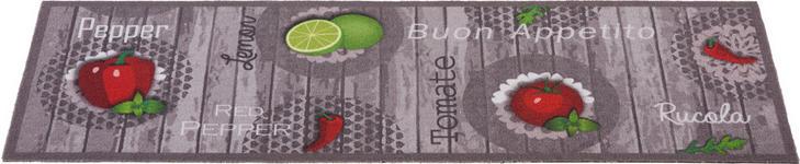 KÜCHENTEPPICH 45/150 cm - Rot/Grau, KONVENTIONELL, Kunststoff (45/150cm) - Esposa