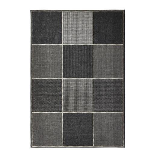 KÜCHENTEPPICH   Sandfarben, Schwarz - Sandfarben/Schwarz, Basics, Textil (60/110cm) - Novel