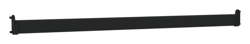 Kleiderstange Unit - Anthrazit, MODERN, Metall (43,9/3/1,5cm) - Ombra
