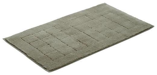 BADEMATTE in Grau - Grau, Basics, Kunststoff/Textil (67/120cm) - Vossen