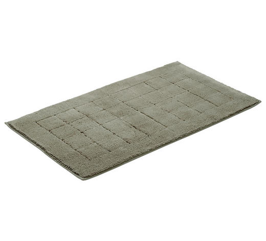 PŘEDLOŽKA KOUPELNOVÁ - šedá, Basics, textilie/umělá hmota (67/120cm) - Vossen