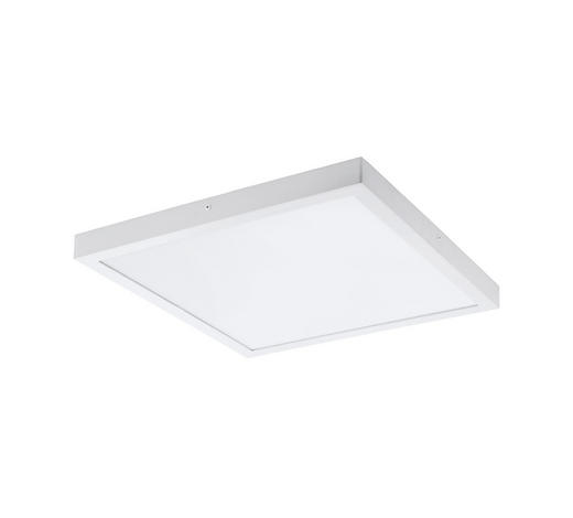 AUFBAULEUCHTE LED-Leuchtmittel - Weiß, Design, Kunststoff/Metall (50/50/3cm)