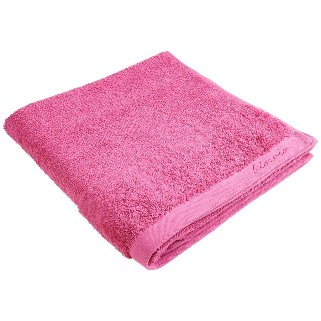 Image of Bio:Vio Duschtuch 70/140 cm , Bonita , Magenta , Textil , Uni , 70 cm , Frottee , saugfähig, hochwertige Qualität, schadstoffgeprüft , 004417004220