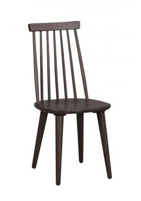 STOL - brun, Design, trä/träbaserade material (43/92/50cm) - Rowico