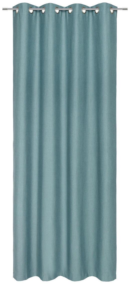 ÖSENSCHAL  blickdicht  135/245 cm - Mintgrün, KONVENTIONELL, Textil (135/245cm) - Esposa