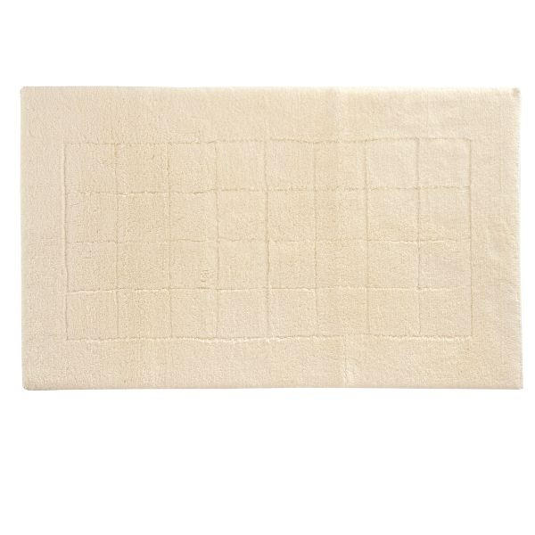 Badteppich 67 x 120  Creme  67/120 cm - Creme, Basics, Kunststoff/Textil (67/120cm) - VOSSEN
