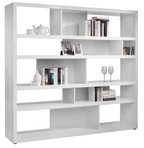 HYLLA - vit, Design, träbaserade material (190/173/35cm) - Carryhome