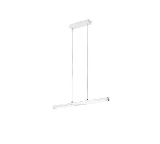 HÄNGELEUCHTE - Weiß, Design, Metall (78/120/4cm)