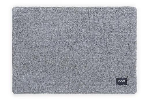 BADEMATTE  Graphitfarben, Grau  70/120 cm - Graphitfarben/Grau, Basics, Textil (70/120cm) - Joop!