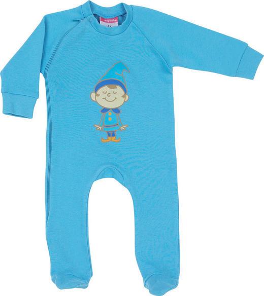 SCHLAFANZUG - Blau, Basics, Textil (68) - My Baby Lou