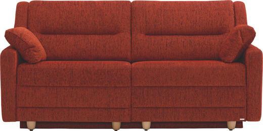 SCHLAFSOFA in Textil Orange - Buchefarben/Orange, KONVENTIONELL, Holz/Textil (184/92/91cm) - Sedda