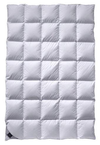 DAUNENDECKE 135-140/200 cm - Weiß, Natur, Textil (135-140/200cm) - Billerbeck