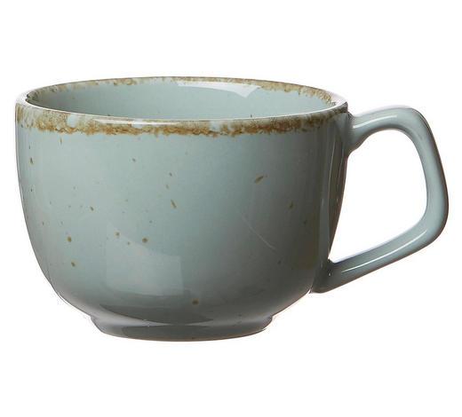 KAFFEETASSE - Blau, LIFESTYLE, Keramik (12/9/7cm) - Ritzenhoff Breker