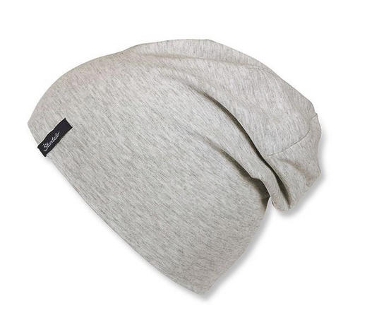 MÜTZE - Hellgrau, Basics, Textil (51cm) - Sterntaler