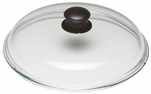 DECKEL  32 cm - Klar, Basics, Glas (32cm) - Ballarini