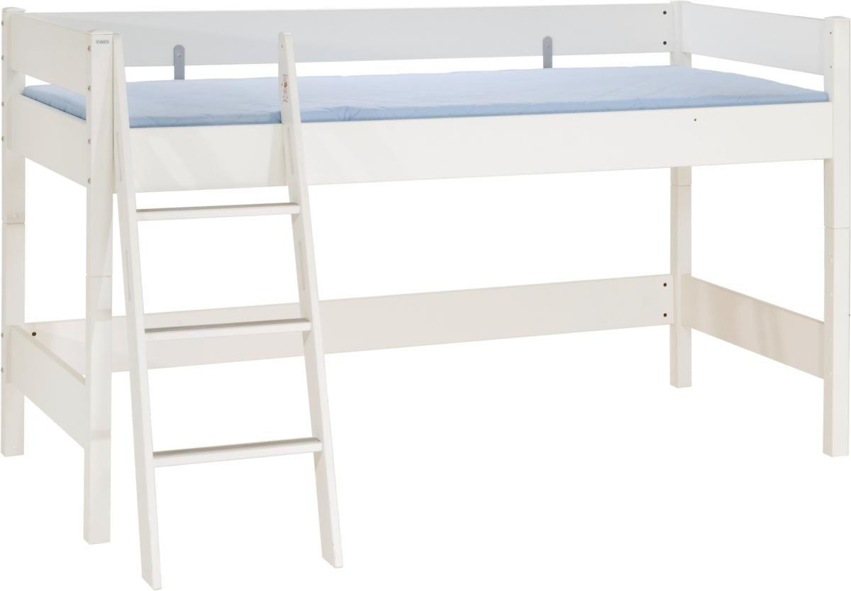 HOCHBETT - Weiß, KONVENTIONELL, Holz/Holzwerkstoff (210.4/134.9/123.5cm) - PAIDI