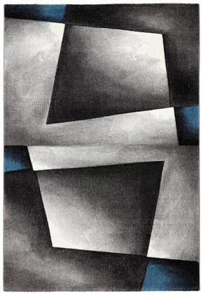 VÄVD MATTA - blå, Klassisk, ytterligare naturmaterial/textil (80/150cm) - Novel